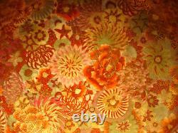 6 1/8 D MARKED Satsuma JAPANESE MEIJI THOUSAND FLOWER SATSUMA SCALLOPED BOWL