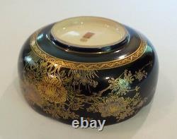 Antique Japanese Satsuma Shimazu Pottery 6 Bowl, Taisho Period (1912-1926)