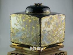 Huge 19th Century Japanese Satsuma Koro Incense Burner Circa 1880