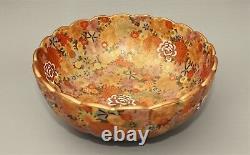 Outstanding 19th Century Satsuma Bowl Millefiore Design